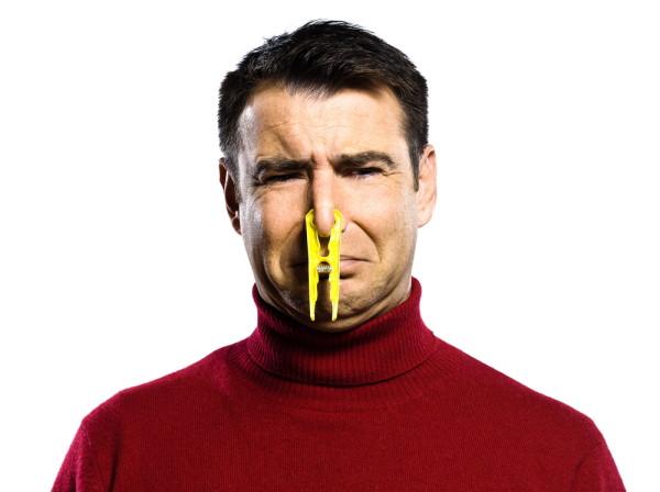 HVAC system odors