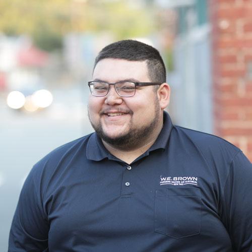 Plumbing Service Technician Cody Wheaton WE Brown