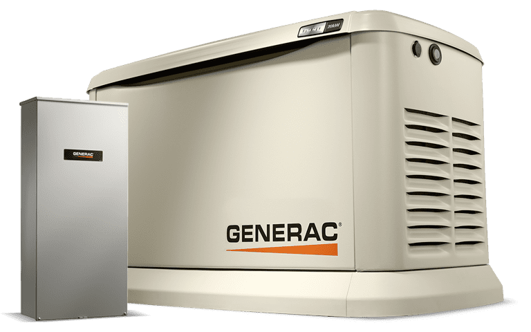 Generac Generator with Transfer Switch