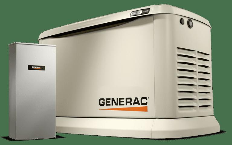 Generac Generator with Transfer Switch